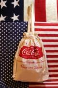 コーラクーラバッグ コーラクーラー巾着トート コーラトートバッグ アメリカ雑貨通販 岩手雑貨屋 サンブリッヂ