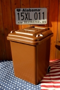 ダルトントラッシュカン トラッシュカン ゴミ箱 ブラウン DULTON アメリカ雑貨屋 サンブリッヂ アメリカ雑貨通販