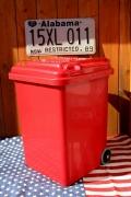 ダルトントラッシュカン トラッシュカン ゴミ箱 レッド DULTON アメリカ雑貨屋 サンブリッヂ アメリカ雑貨通販