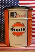 ガルフオイル缶スツール オイル缶チェア GULF アメリカ雑貨屋 サンブリッヂ