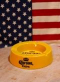コロナ灰皿 Corona コロナ 灰皿 ノベルティ アメリカ雑貨通販 サンブッヂ 岩手雑貨