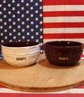 ハーシーズ キャンディボウル ボウル ホワイト ブラウン HERSHE'S アメリカ雑貨通販 アメリカ雑貨屋 サンブリッヂ
