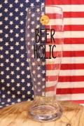 ジャンボビアグラス 1600ml ビールホリック ビール中毒 おもしろキッチン雑貨 アメリカ雑貨屋 SUNBRIDGE 通販