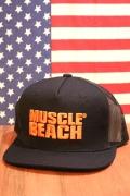 マッスルビーチキャップ メッシュキャップ 帽子 MUSCLEBEACH マッスルビーチ アメリカ雑貨通販 サンブリッヂ