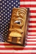 TIKIティッシュケース おもしろティッシュケース ハワイの神様TIKI おもしろグッズ アメリカ雑貨屋 SUNBRIDGE
