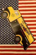 ペンズオイルトラックエンボス看板 ブリキ看板 PENNZOIL アメリカン看板 アメリカ雑貨屋 サンブリッヂ アメキャラ通販