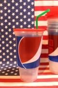 ペプシ使い捨てカップ プラスチックカップ 6個セット PEPSI アメリカ雑貨屋 SUNBRIDGE 岩手雑貨屋