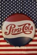 ペプシ看板 王冠エンボスサイン PEPSI スチール看板 アメリカ雑貨屋 サンブリッヂ アメリカ看板通販