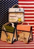 スヌーピーランチバッグ 保温保冷 スヌーピーお弁当箱入れ SNOOPY キャラクター アメリカン雑貨 サンブリッヂ 通販商品
