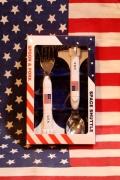 スペースシャトル スプーン&フォーク スプーン フォーク SPACESHUTTLE アメリカ雑貨屋サンブリッヂ SUNBRIDGE 岩手雑貨