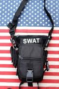 レッグポーチ ショルダーバッグ ミリタリーバッグ 2WAYバッグ SWAT アメリカ雑貨屋 サンブリッヂ