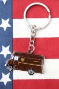 UPSキーホルダー キーチェーン UPSグッズ通販 アメリカ雑貨屋 サンブリッヂ アメリカ雑貨通販