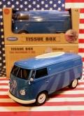 フォルクスワーゲンバス ティッシュボックス Volkswagen 小物入れ WELLY アメリカ雑貨屋 サンブリッヂ アメリカン雑貨通販