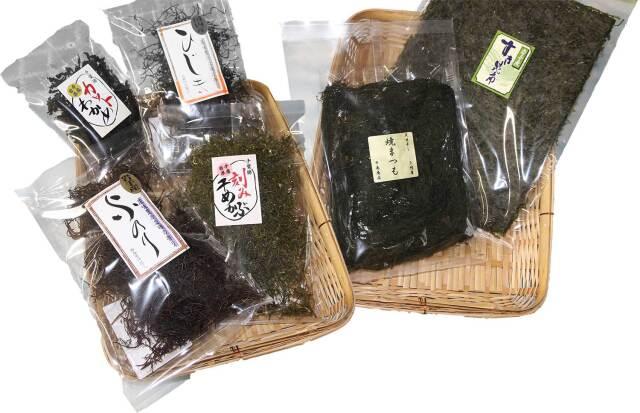 海藻干物6点セット