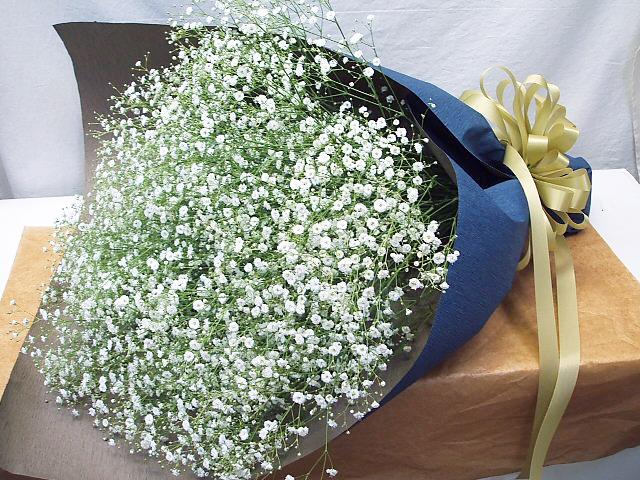 花束 かすみ草