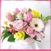 花 フラワーアレンジメント 花束 お祝いの花 誕生日 プレゼント 花