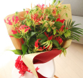 花束グロリオサ