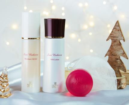 クリスマス限定 スキンケア ローズシリーズセット【洗顔専用泡立てネット付き】