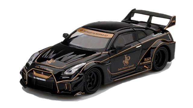 MINI GT 1/64 LB-Silhouette WORKS GT Nissan 35GT-RR バージョン1 JPS(右ハンドル)