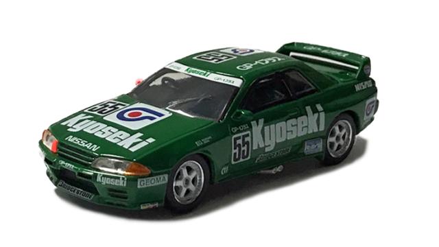 MINI GT 1/64 Nissan スカイライン GT-R R32 Kyoseki 全日本ツーリングカー選手権 1993 Gr.A #55(右ハンドル)