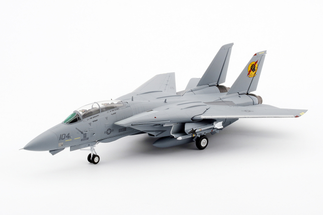 TSM WINGS 1/72 ノースロップ グラマン F-14A VF-213 #104 Top Gun アイスマン&スライダー