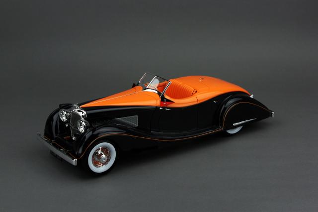 "Collection d'Elegance 1/18 デューセンバーグ SJ 1935 ガーニーナッティング スピードスター ""マハラジャ ホールカル インドール"""