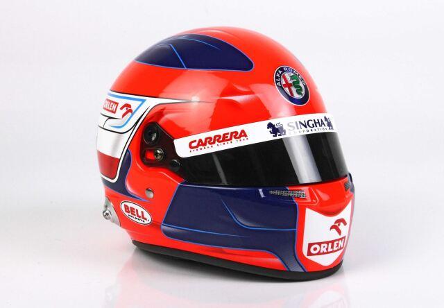 【予約】 BBR 1/2 Helmet Robert Kubica Alfa Romeo Racing 2021