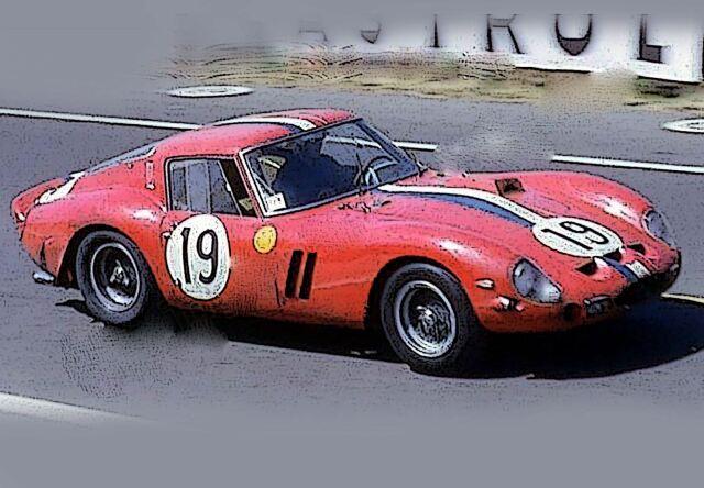 【予約】BBR 1/18 Ferrari 250 GTO 24H Le Mans 1962 SN 3705 GT(ケース付)