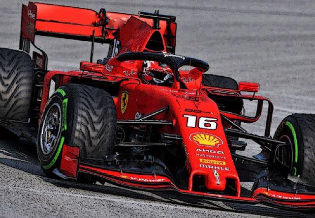 【予約】 BBR 1/18 Ferrari SF21 C. Leclerc Car N.16 GREEN Intermediate Tyres Polifoam Base*die-cast