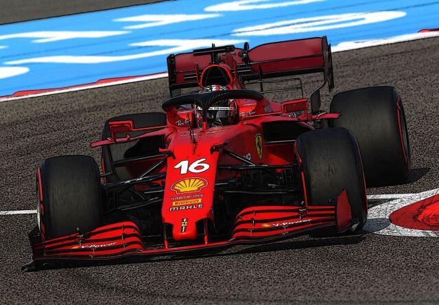 【予約】 BBR 1/18 Ferrari SF21 C. Leclerc Car N.16 RED SOFT Tyres Technical Fabric Base*die-cast(ケース付)