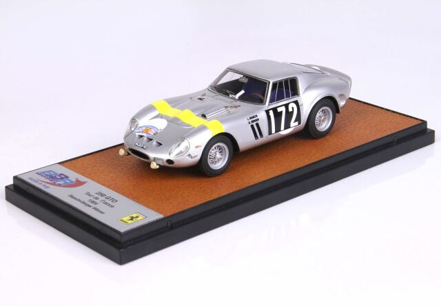 【予約】 BBR 1/43 Ferrari 250 GTO Winner Tour De France 1964