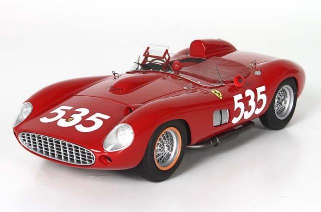BBR 1/18 フェラーリ 315S ミッレ ミリア 1957 優勝車 #535 Piero Taruffi s/n 0684
