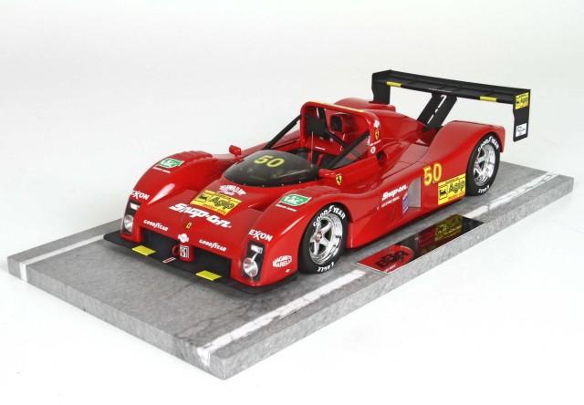 """BBR 1/18 フェラーリ 333 SP """"Tic Tac"""" Winner I.M.S.A. 1994"""