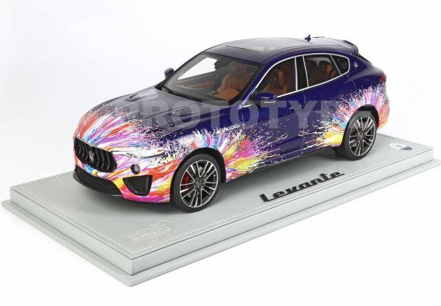 【予約】 BBR 1/18 Maserati Levante Trofeo Fuoriserie Edition(ケース付)
