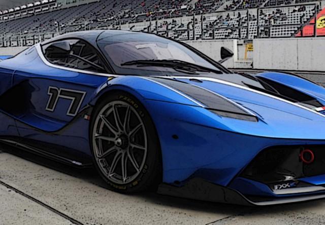 BBR 1/43 フェラーリ FXX K 2016 #17 ブルー フランシア パガーニ
