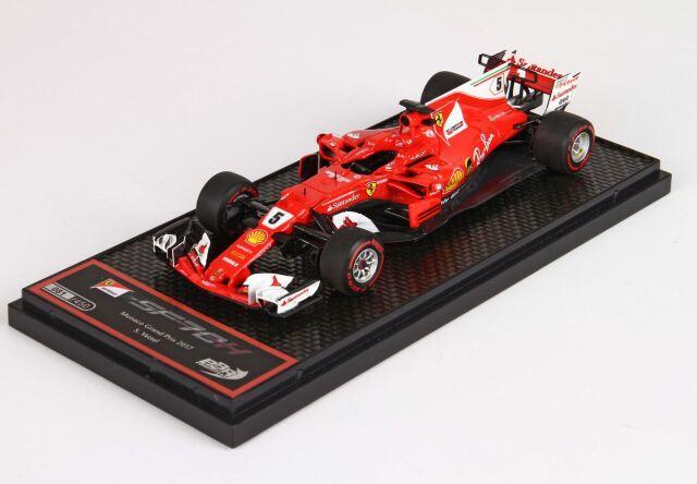 BBR 1/43 フェラーリ SF70-H GP Montecarlo 2017 winner S. Vettel
