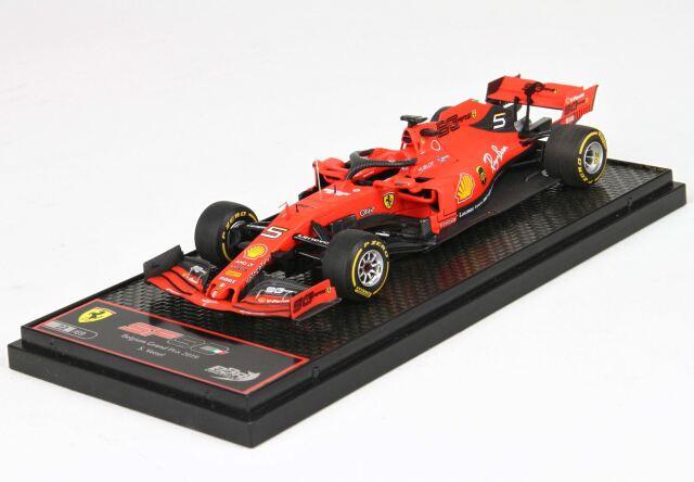 BBR 1/43 フェラーリ SF90 ベルギーGP 2019 #5 S.Vettel