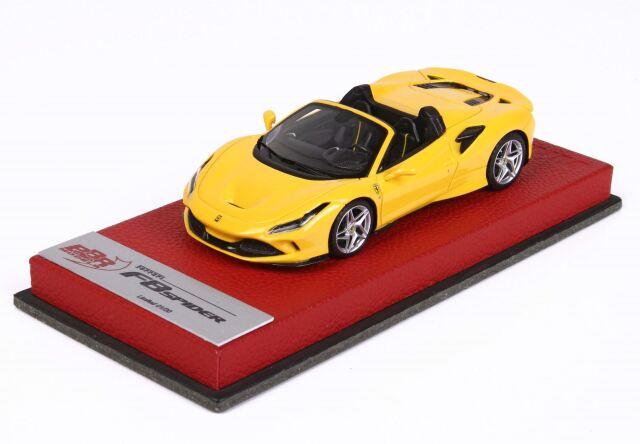 BBR 1/43 Ferrari F8 Tribute Spider Giallo Modena
