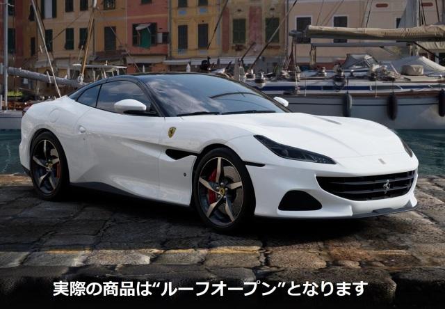 【予約】BBR 1/43 Ferrari Portofino M Spider Version Bianco Cervino Brakes Red