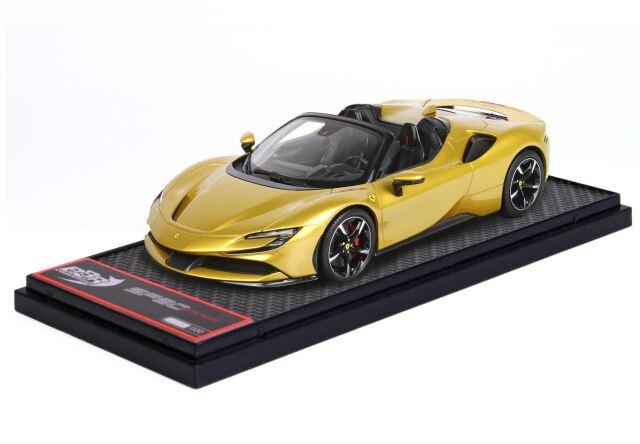 【予約】BBR 1/43 Ferrari SF90 Spider Giallo Monte Carlo