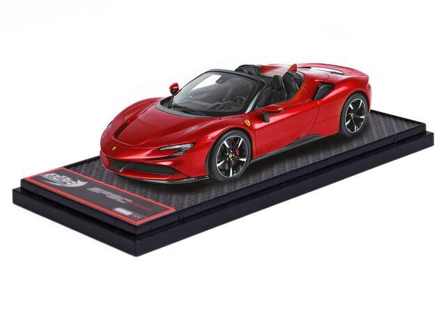 【予約】BBR 1/43 Ferrari SF90 Spider Rosso Corsa 322