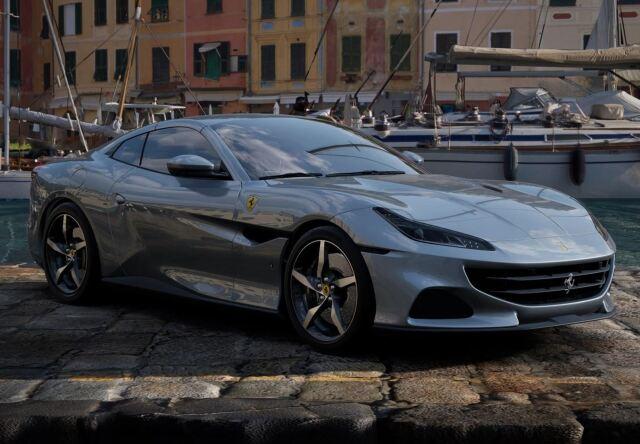 【予約】BBR 1/43 Ferrari Portofino M Spider Closed Roof Grigio Titanio Metal