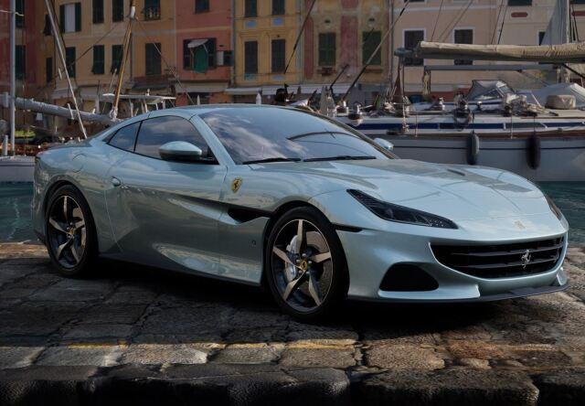 【予約】BBR 1/43 Ferrari Portofino M Spider Closed Roof Grigio Alloy