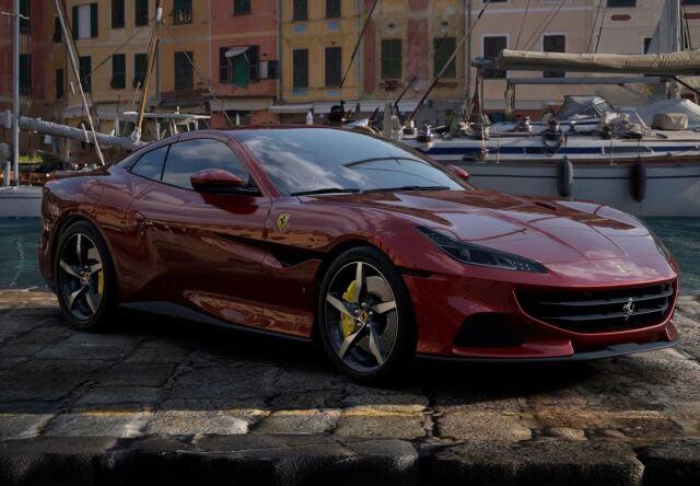 【予約】BBR 1/43 Ferrari Portofino M Spider Closed Roof Rosso Fiorano