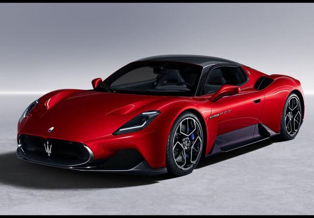 【予約】BBR 1/43 Maserati MC20 2020 Rosso Vincente