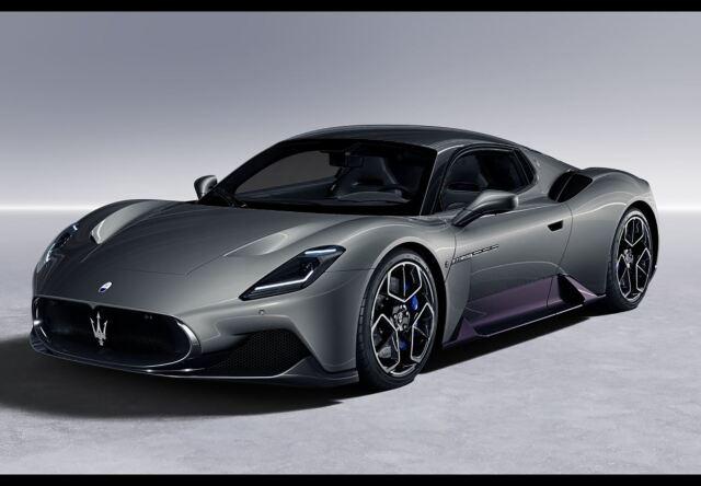 【予約】BBR 1/43 Maserati MC20 2020 Grigio Mistero