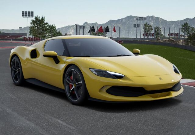 【予約】 BBR 1/43 Ferrari 296 GTB Giallo Modena