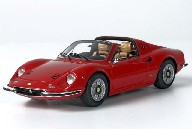 BBR 1/43 フェラーリ ディーノ 246 GTS 1972 レッド