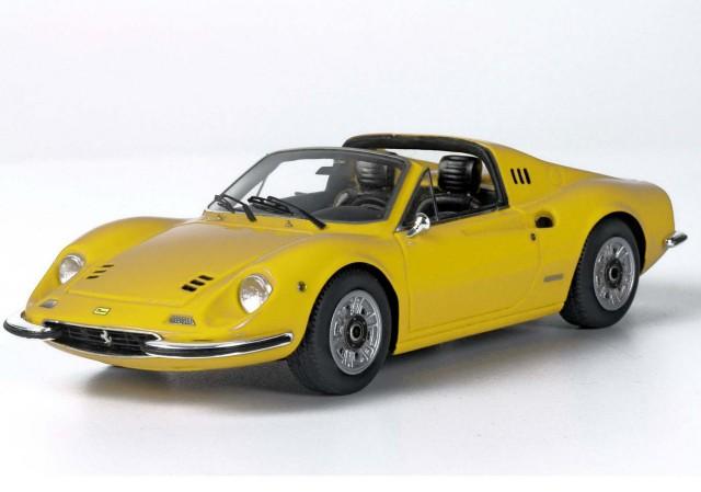BBR 1/43 フェラーリ ディーノ 246 GTS 1972 イエロー