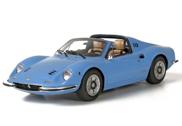 BBR 1/43 フェラーリ ディーノ 246 GTS 1972 ライトブルーメタリック